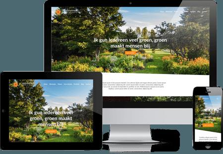 Website laten bouwen snel en betaalbaar met zuoo voor for Tuin tekenen app